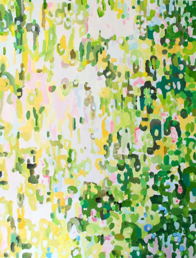 Gegenlicht 1G, Öl, 170x130, 2012
