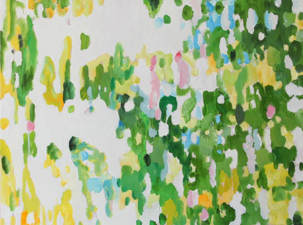 Gegenlicht 1M, Öl, 60x80, 2012