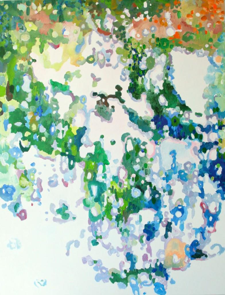 Gegenlicht 2G, ÖL, 170x130, 2012