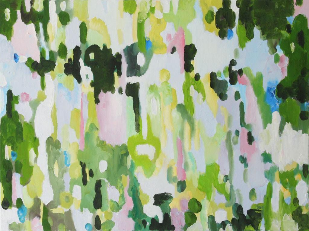Gegenlicht 2M, Öl, 60x80, 2012