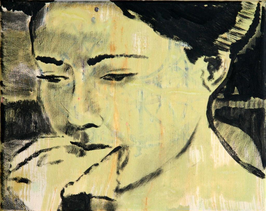 Jap. Film(Tuch), 30x40, 2009