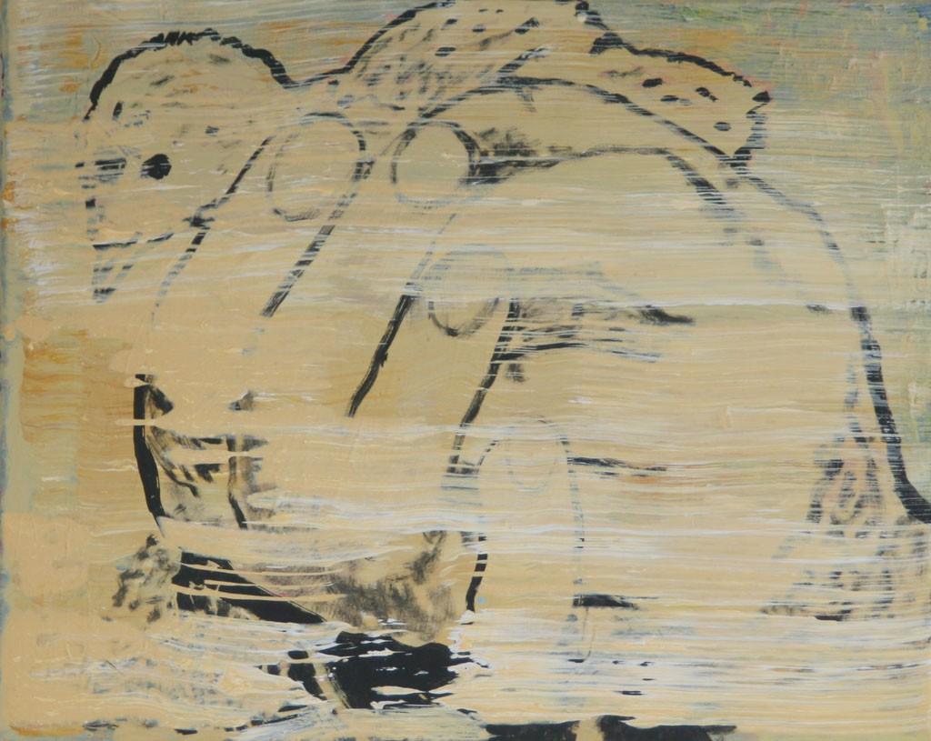 Küken, 50x60, Acr. Pigm., 2009