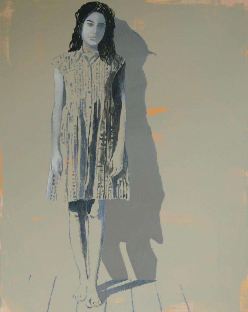 Maria mit Schatten