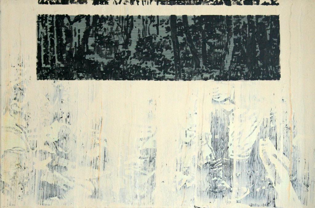 Wald, 80x120, Acr. Pigm., 2009
